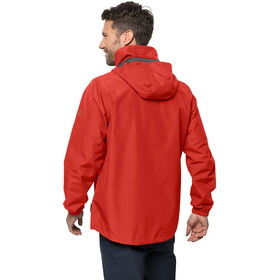 Jack Wolfskin Stormy Point Jacket Men lava red
